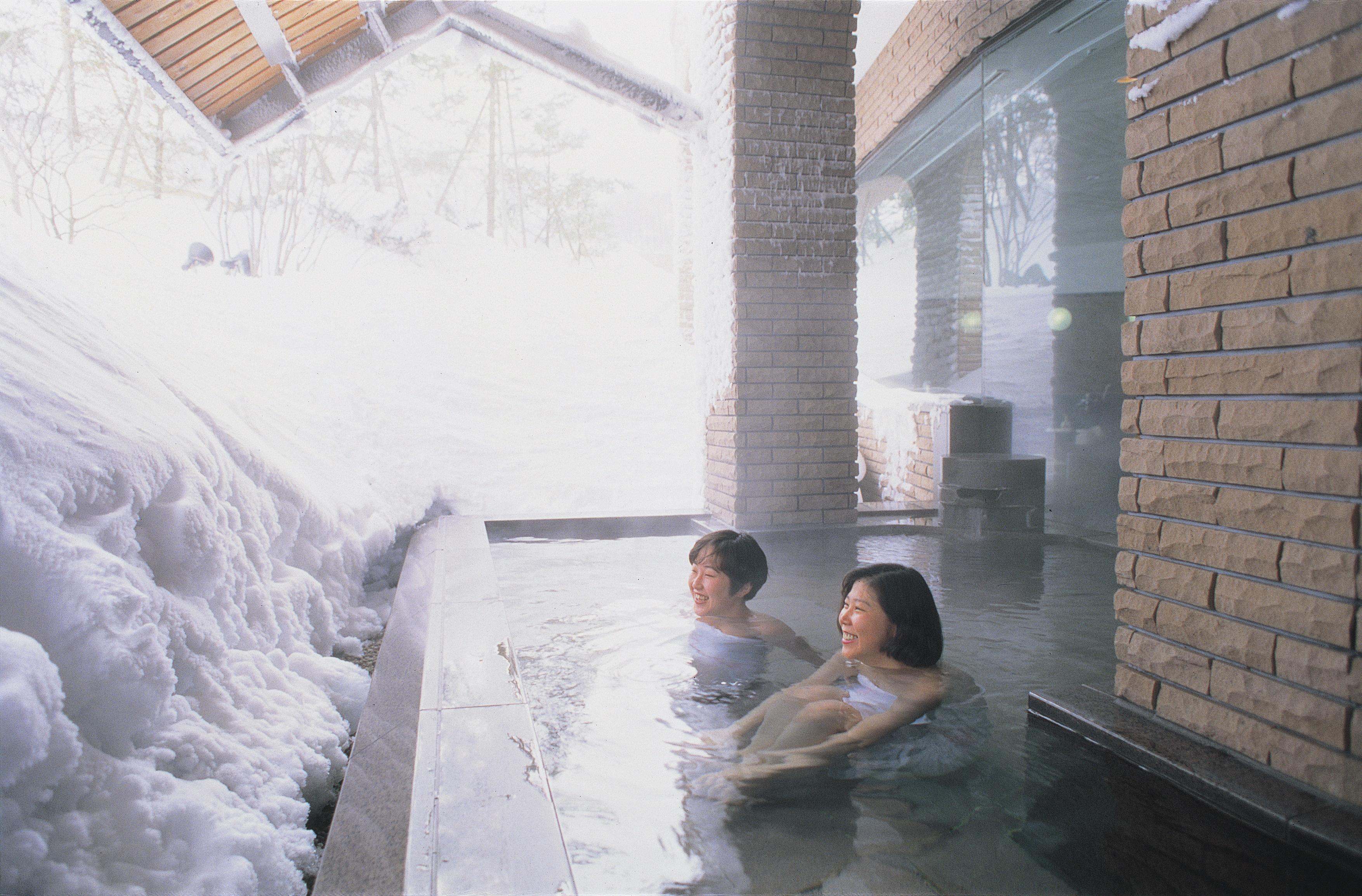 ホテル露天風呂画像